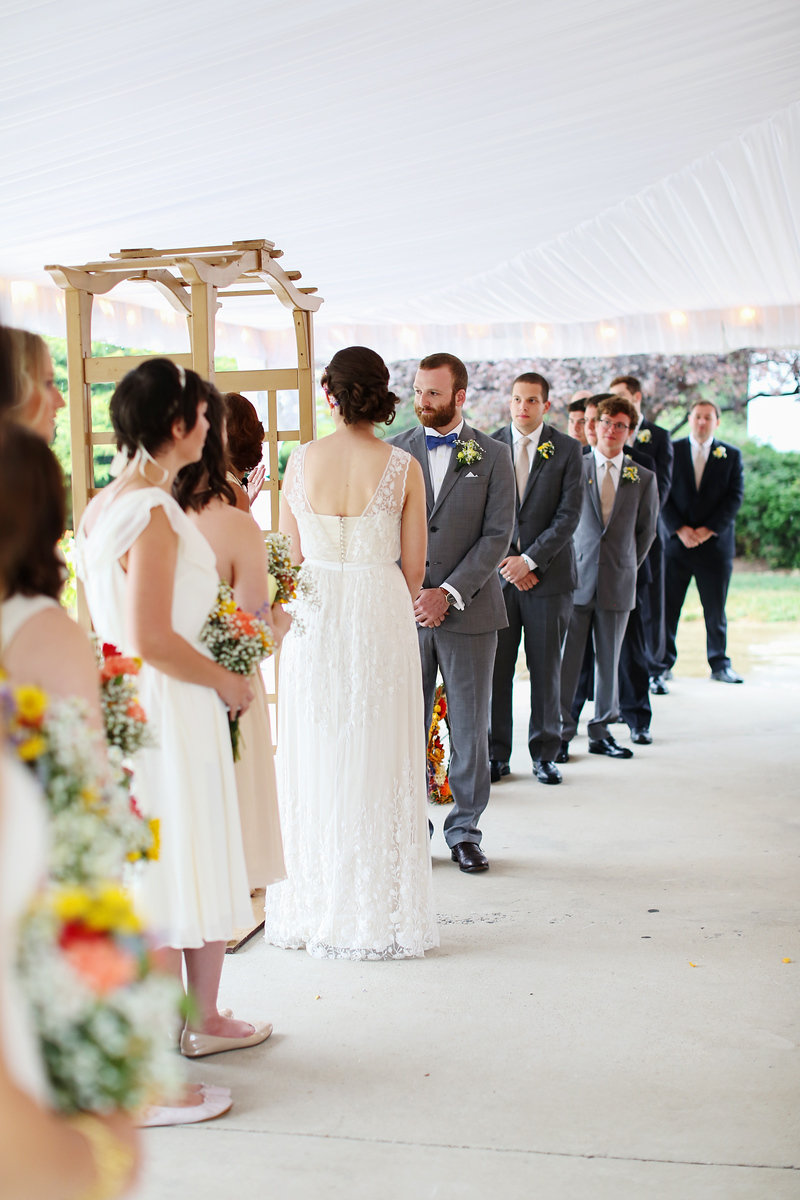 Wedding at the Comus Inn at Sugarloaf Mountain. Photos by Jalapeno Photography.