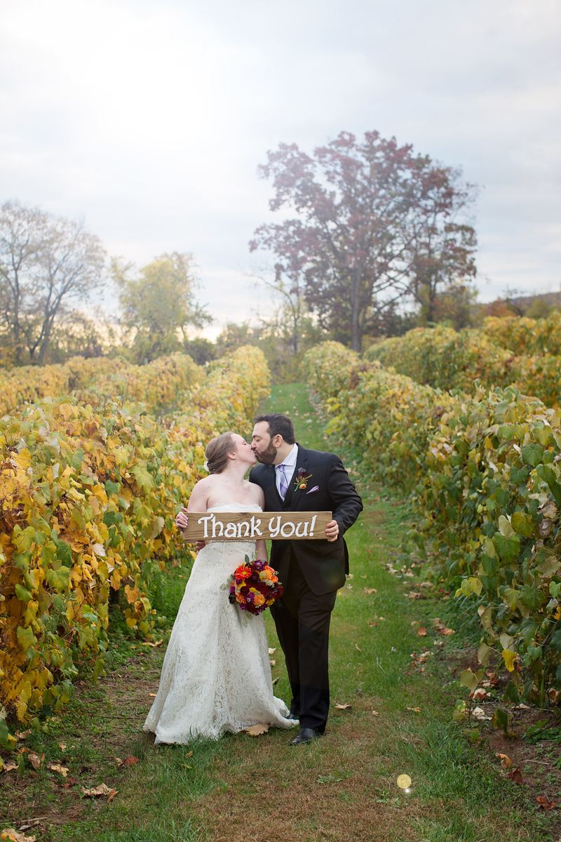 Cassie and Phil's Bluemont Vineyard wedding outside of Washington, DC. The wedding photographer was Jalapeno Photography.