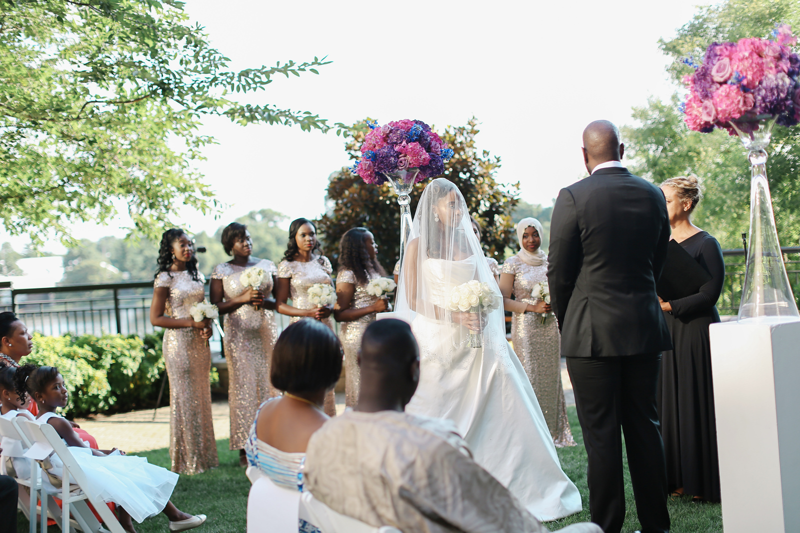 Mandarin Oriental wedding photos in Washington, DC by Jalapeno Photography.