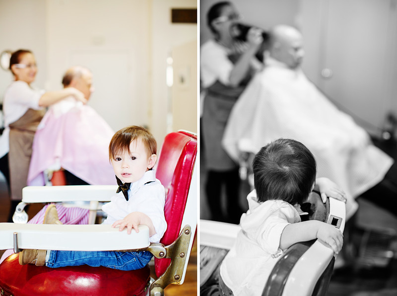 Jalapeno Photography was the photographer for the 1st Birthday Party- a first haircut.