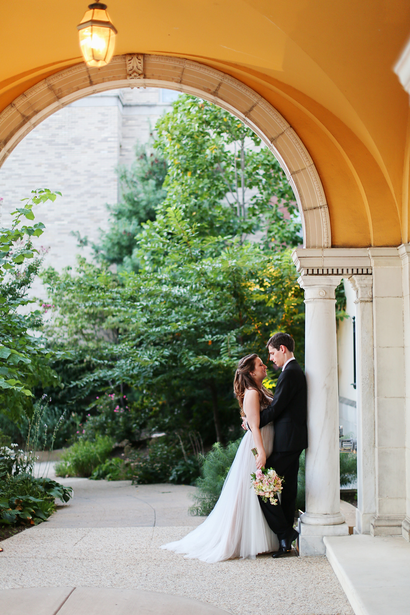 Washington, DC wedding at the Josephine Butler Parks Center.